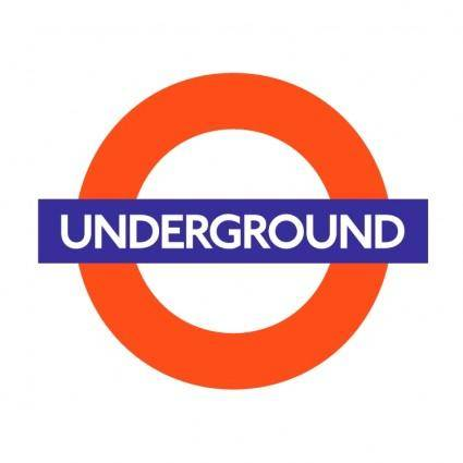 free vector London underground