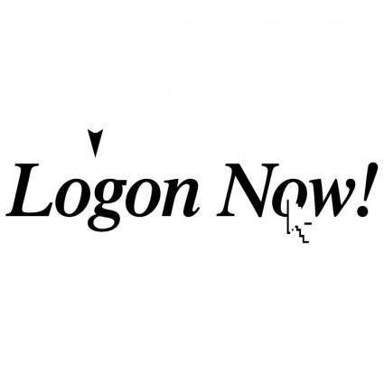 Logon now