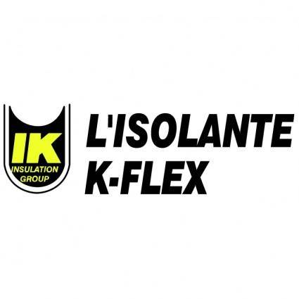 free vector Lisolante k flex