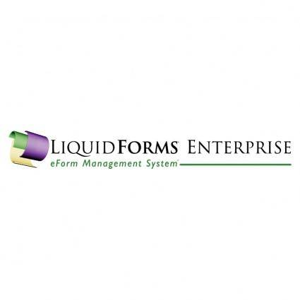 free vector Liquidforms enterprise