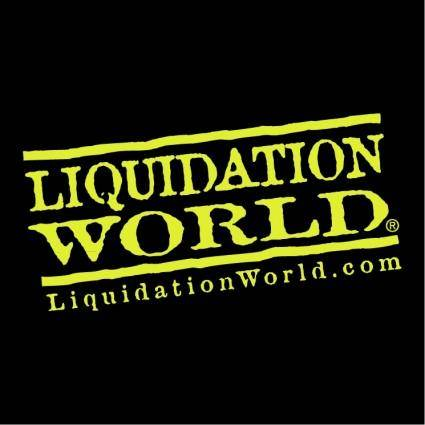 free vector Liquidation world