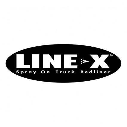 free vector Line x