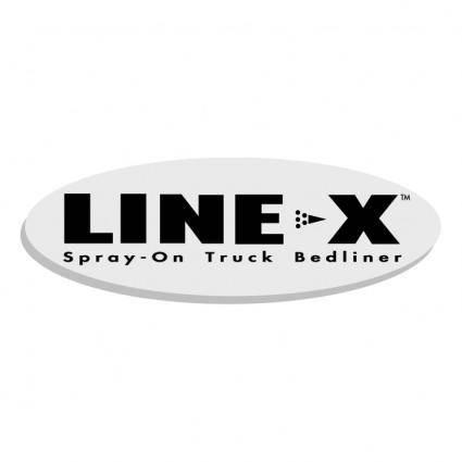 Line x 4