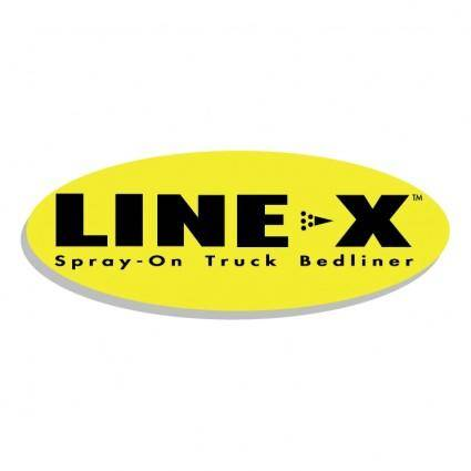 Line x 2