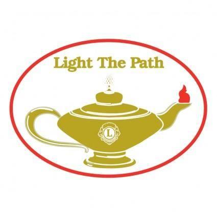 free vector Light the path