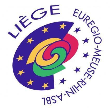 free vector Liege euregio meuse rhin asbl