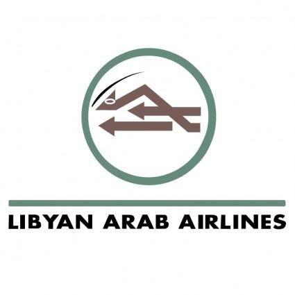 free vector Libyan arab airlines