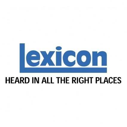 free vector Lexicon