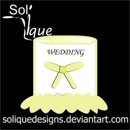 free vector Wedding Decoration