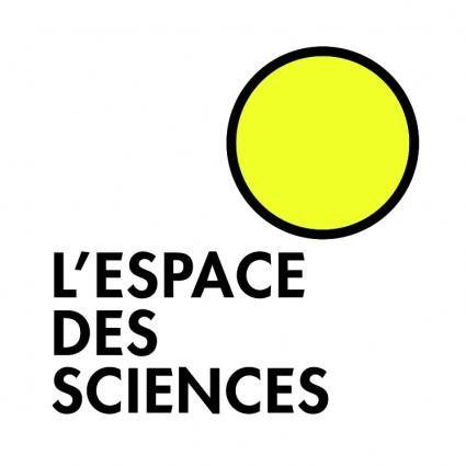 Lespace des sciences