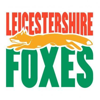 free vector Leicestershire foxes