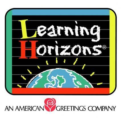 free vector Learning horizons