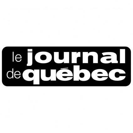free vector Le journal de quebec