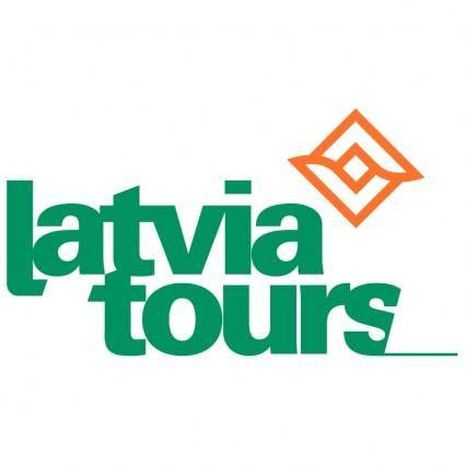 free vector Latvia tours