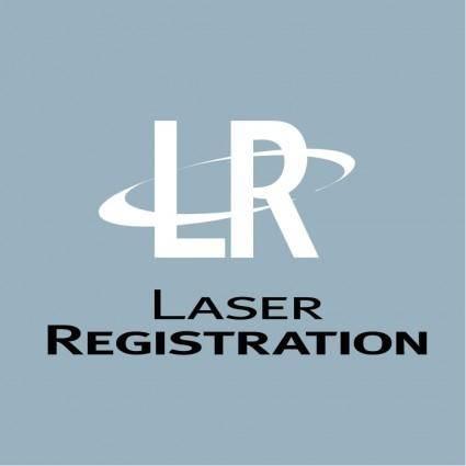 Laser registration
