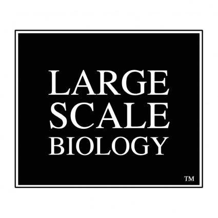 free vector Large scale biology