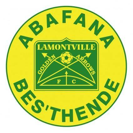 free vector Lamontville golden arrows