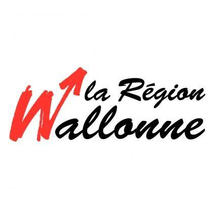 free vector La region wallonne