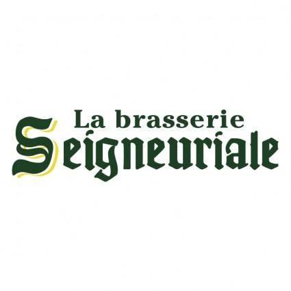 La brasserie seigneuriale