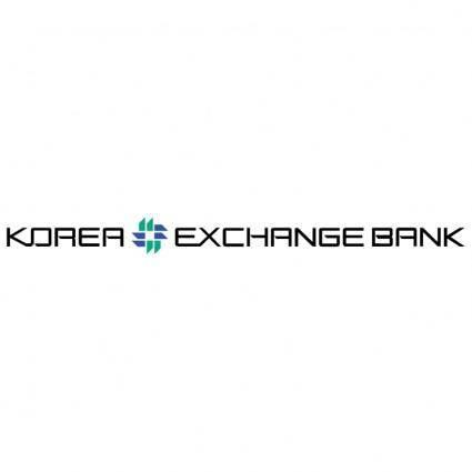 free vector Korea exchange bank