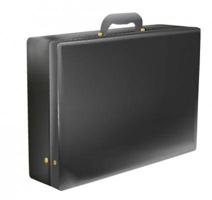 Vector Brief Case Gradient Mesh