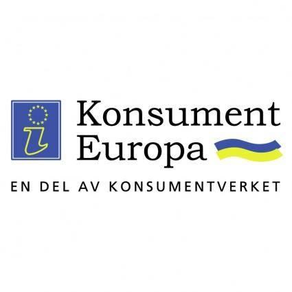 free vector Konsument europa