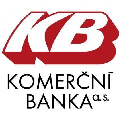free vector Komercni banka