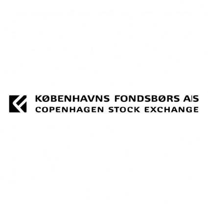 free vector Kobenhavns fondsbors