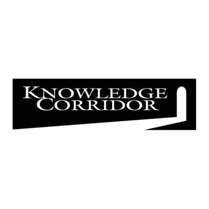 free vector Knowledge corridor