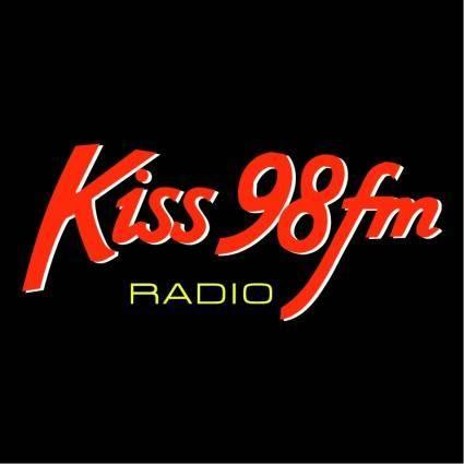free vector Kiss 98 fm