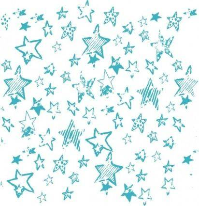 free vector Stars brush, estrellas borrosas