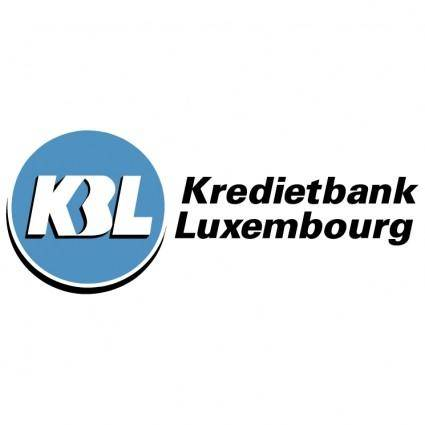 free vector Kbl kredietbank luxembourg