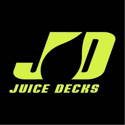 free vector Juice skateboard decks