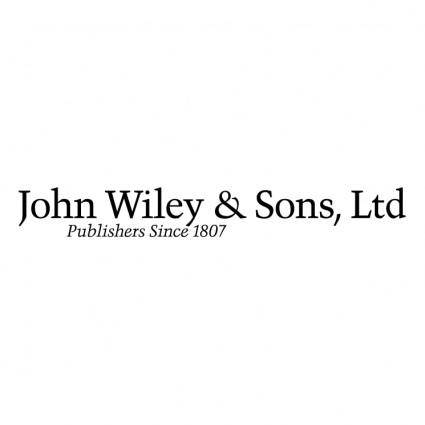 John wiley sons ltd