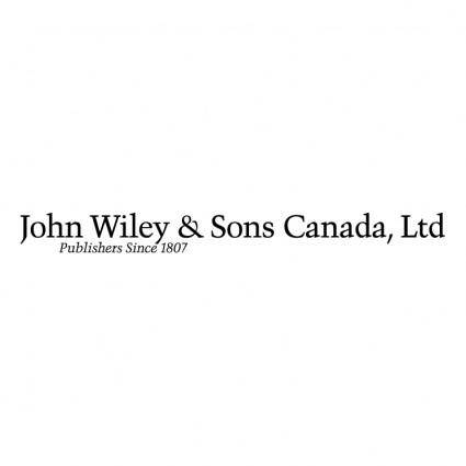 John wiley sons canada
