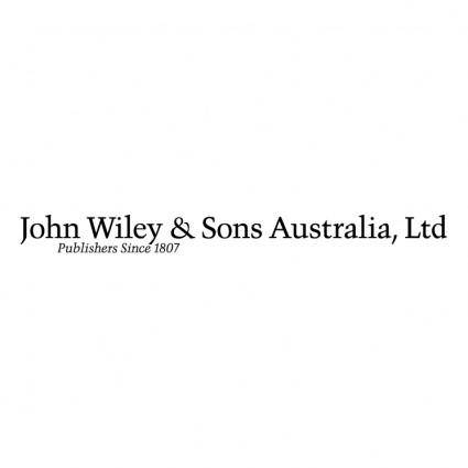 John wiley sons australia