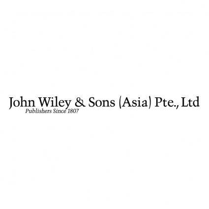 John wiley sons asia