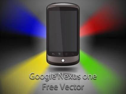 free vector Google nexus one