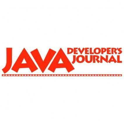 free vector Java developers journal