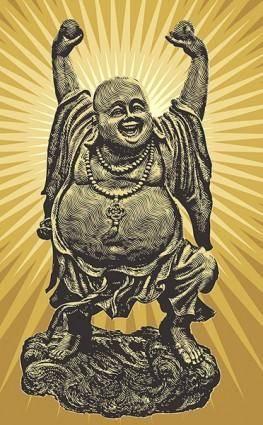 free vector Chinese Buddha