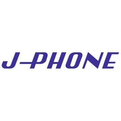 free vector J phone