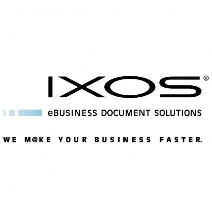 Ixos software