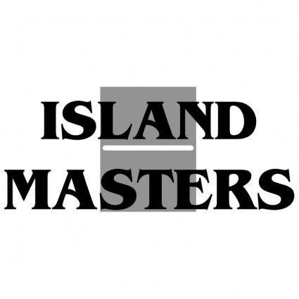free vector Island masters