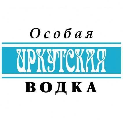 free vector Irkutskaya vodka