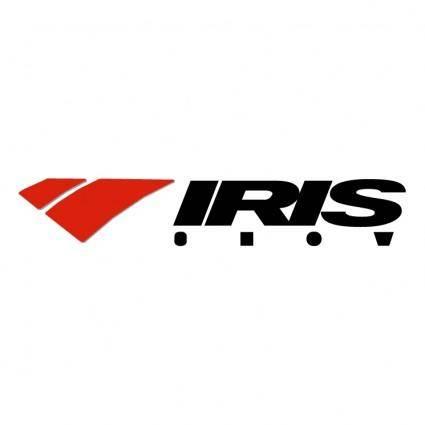 free vector Iris snow