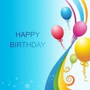 free vector Vector Birthday Template