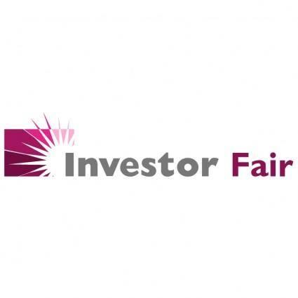 free vector Investor fair