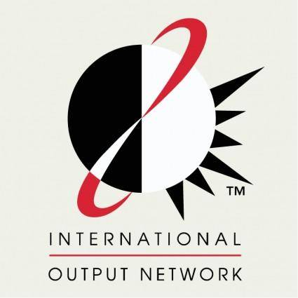 free vector International output network