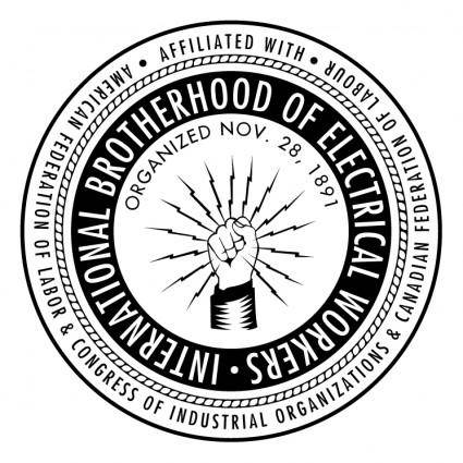 free vector International brotherhood of electrical workers
