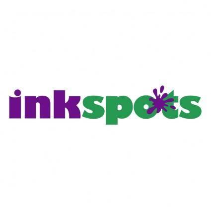 free vector Ink spots